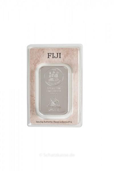 100 Gramm Silber Münzbarren FIJI geprägt