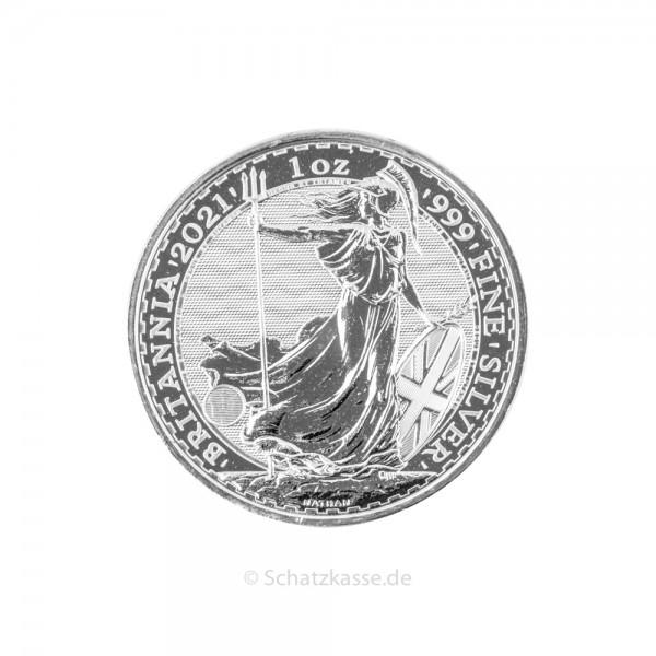 Britannia 1 Unze Silber 2021