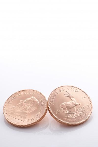 Krügerrand 1 Unze Goldmünze - Investmentpaket 10 Stück