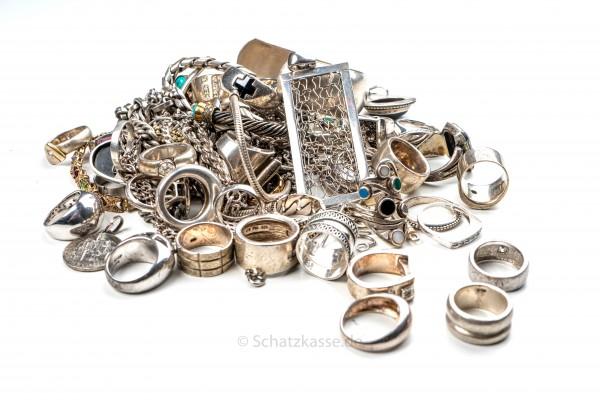 750 Altsilber Ankauf - Silberbestecke Silberwaren - 12 lötig - 1 GRAMM