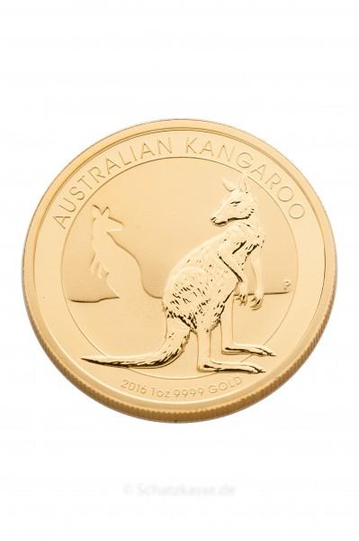 Känguru 1 Unze Gold 2021