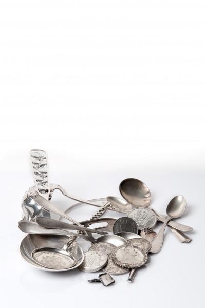 830 Altsilber Ankauf – Silberschmuck Silberbestecke Silberwaren Münzsilber 1 GRAMM
