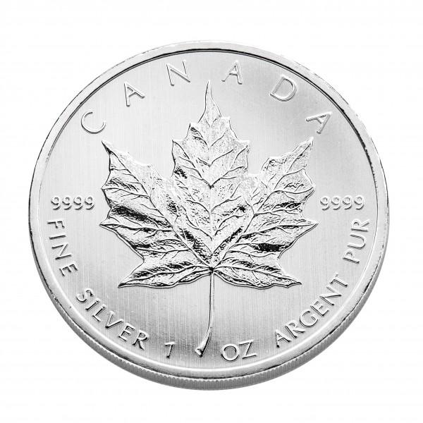 Maple Leaf Silber 1 Unze 2021