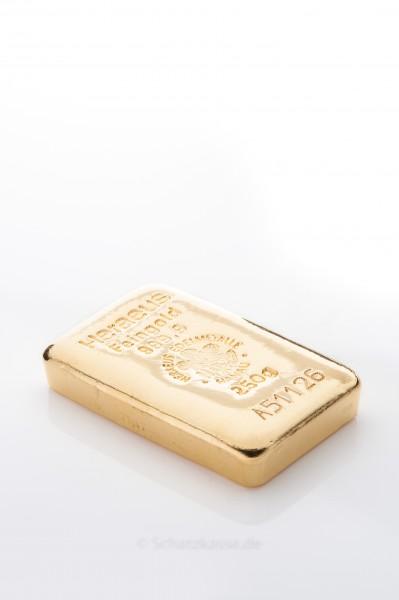 250 Gramm Goldbarren diverse Hersteller (LBMA)